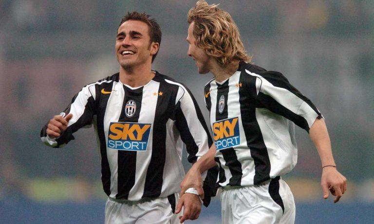 Cannavaro e Nedved alla Juventus